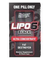 Жиросигатель Lipo-6 Black Ultra Concentrate